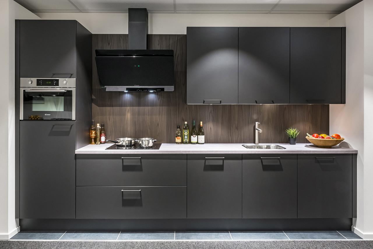 Recht Keuken Zwart : Keuken havanna keukenhal